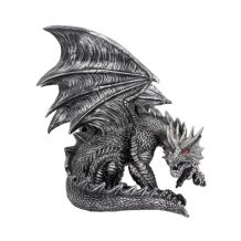 OBSIDIAN DRAGON FIGURINE